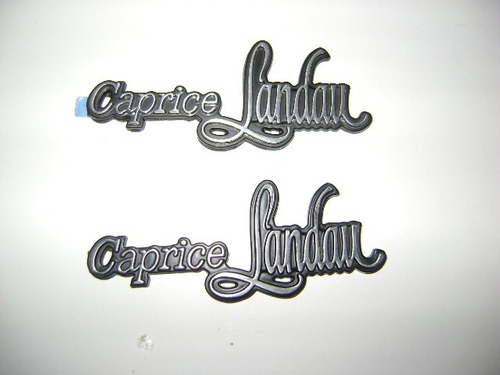 emblema de caprice landau original
