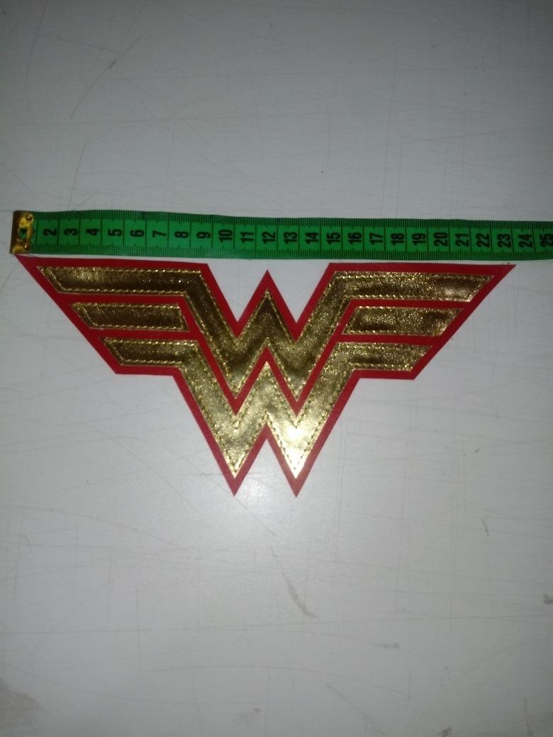 Emblema De Mulher Maravilha R 20 00 Em Mercado Livre