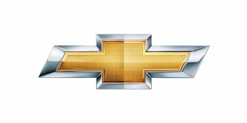 emblema de parrilla de alumino chevrolet