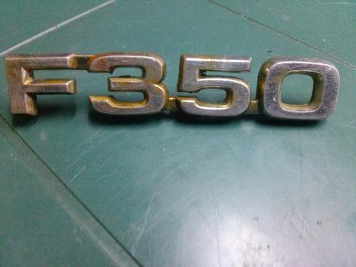 emblema decada de los 80tas ford f350 f-350 original