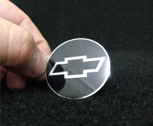 emblema em metal volante gm chevrolet alta qualidade