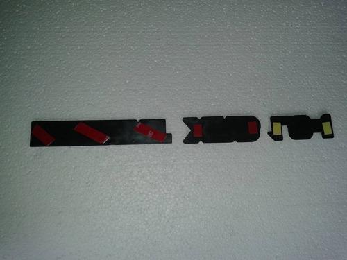 emblema: escort + xr3 + 1.8i vermelho do escort