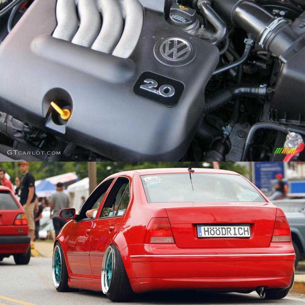Emblema Euro Original Para Motor 2.0 Vw Jetta Golf A4 3