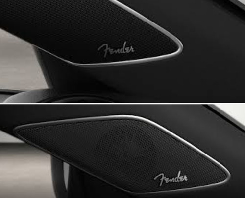 emblema fender audio fusca tsi new beetle passat tsi r-line