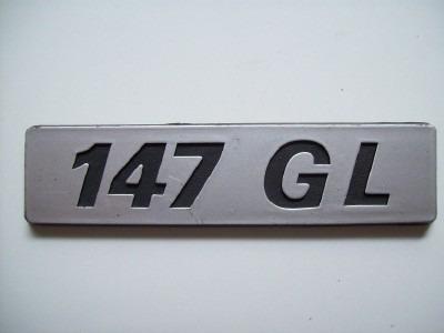 emblema fiat 147gl spazio