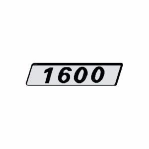 emblema fiat 1600