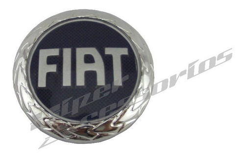 emblema fiat capô palio siena strada 96 a 00 para adaptação