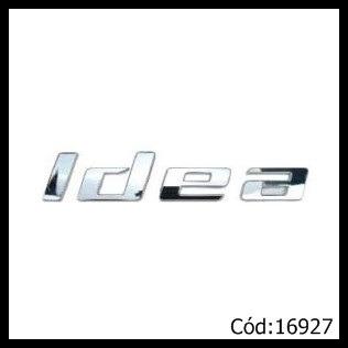 emblema fiat idea 2010 até 2013 cromado