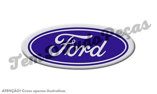 emblema ford da grade cargo 00/... aplica-se na f250 e f350