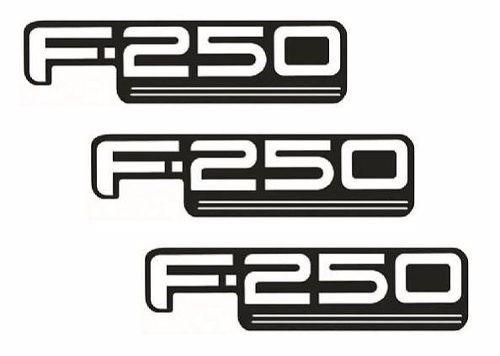 emblema ford f250 f-250 - modelo original