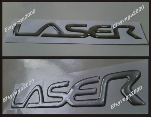 emblema  ford laser maleta