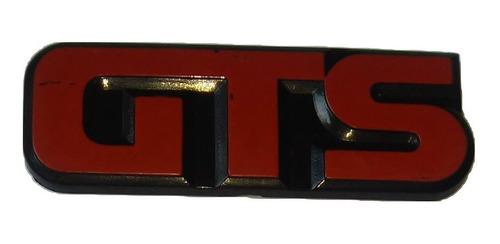 emblema gol gts 87 a 90 original vw logotipo coluna lateral