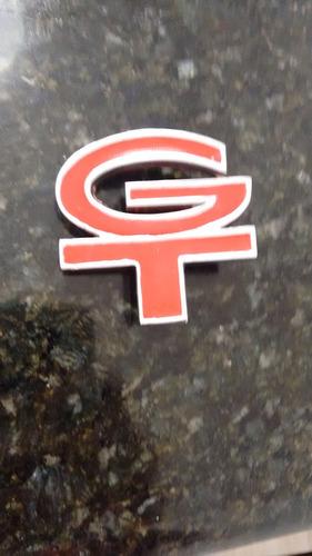 emblema gt do teto de vinil e grade para ford corcel