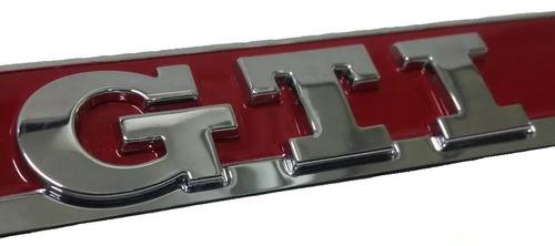 emblema gti lateral paralama esquerdo golf geração 7