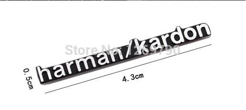 emblema harman/kardon para altavoz o parlante de auto
