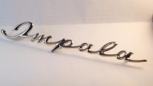 emblema impala manuscrito novo