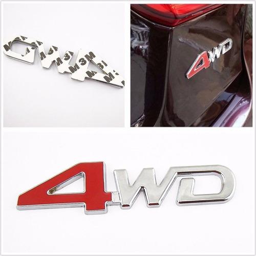 emblema insignia 4wd para toyota nissan ford chevrolet dodge