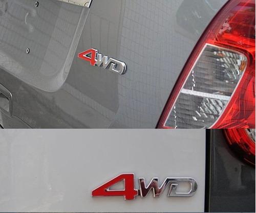 emblema insignia  4wd para toyota,nissan,ford,chevrolet...