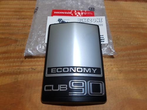 emblema insignia cub economy original honda c 90 econo power