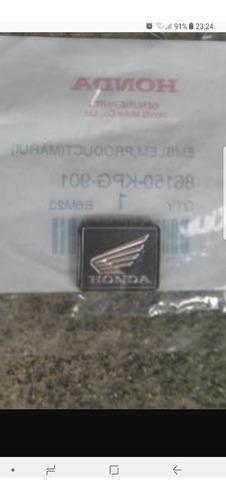 emblema insignia original ala honda cristo superior
