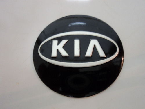 emblema kia  para rodas esportivas 55 mm