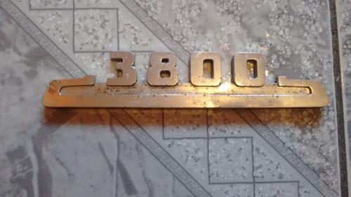 emblema lateral chevrolet 3800 del 48-54