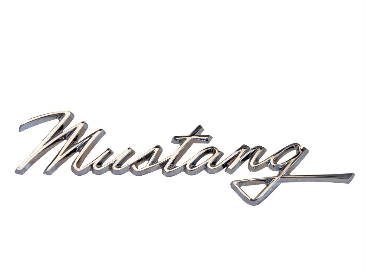 emblema lateral mustang 68 ford letra friso cavalo 66 67 69 r 120 00 em mercado livre. Black Bedroom Furniture Sets. Home Design Ideas