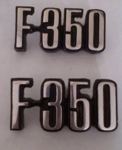 emblema letra f-350 año 73-79