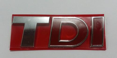 emblema letreiro tdi amarok volkswagen + brinde