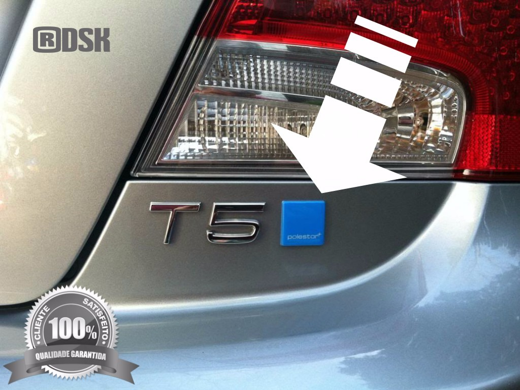 Volvo S60 Polestar >> Emblema Logo Polestar Volvo - Xc60 V40 S60 V60 C30 3,3x3,3cm - R$ 120,49 em Mercado Livre