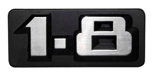 emblema logo vw pinos longos dianteiro voyage 1.8 super gls 85 86 cromado esc original volkswagen de época grade frontal