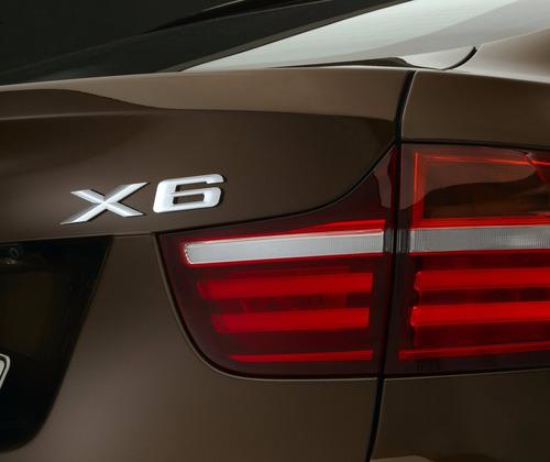 emblema logo x6 bmw - traseira - pronta entrega!!