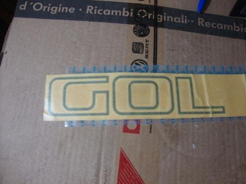 emblema logotipo gol 1.8 tampa tras gol gt 1.8 original vw