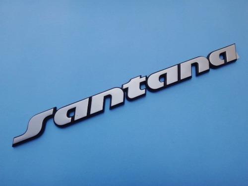 emblema logotipo santana 91/95
