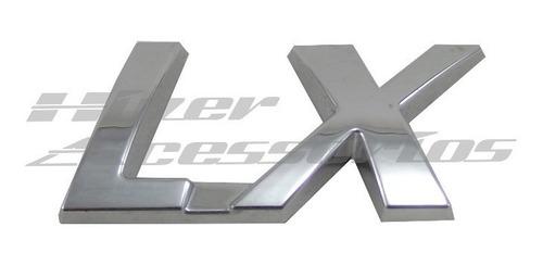 emblema lx strada linha fiat 2001 em diante original