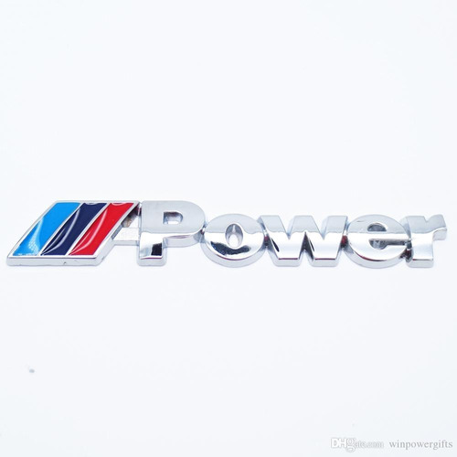 emblema m power bmw grade m2 m3 m5 x5 x6 118 120 320 325 328