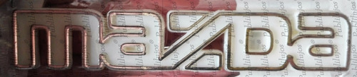 emblema mazda 323 persiana palabra mazda blanco envio gratis