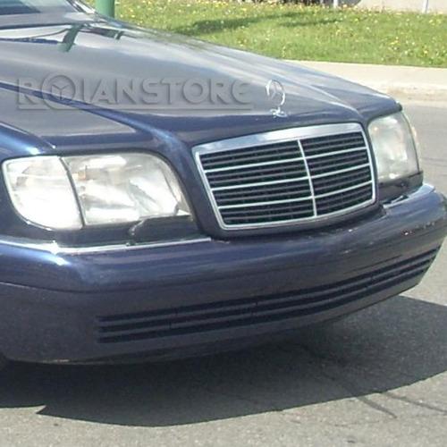 emblema mercedes benz estrella logo capó capot modelos w140
