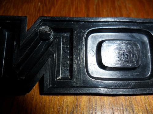 emblema monza 82/88 original gm