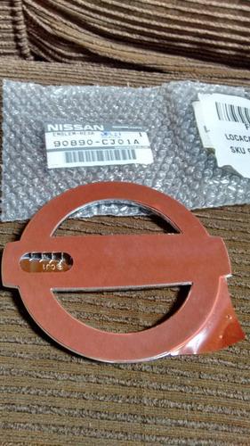 emblema nissan da tampa traseira do livina