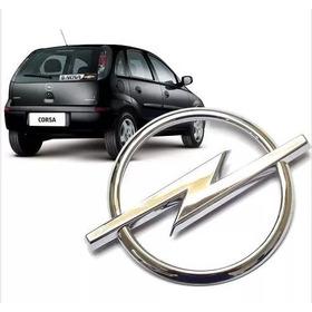 Emblema Opel Tampa Traseira Corsa Novo Hatch 2003 A 2012