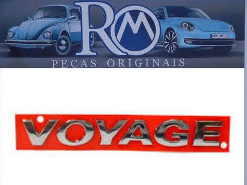 emblema original do voyage g5  de 2009 a 2012