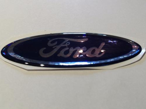 emblema ovalo resina careta logo ford 100mm .x unidad