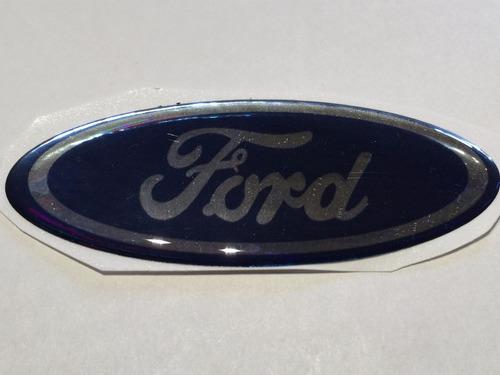 emblema ovalo resina careta logo ford 80mm .x unidad