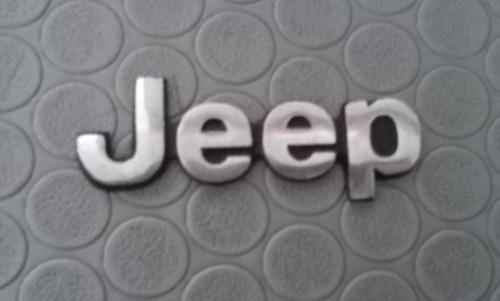 emblema palabra jeep