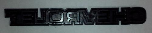 emblema palabra letra chevrolet chevette