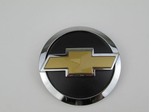 emblema pára-choque dianteiro simbolo redondo cromado com gr