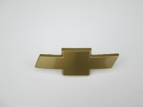 emblema pára-choque dianteiro so gravata dourada