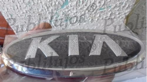 emblema persiana o tapa kia picanto y similares 13 cm x 6.5