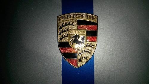 emblema porsche brasão ou relevo
